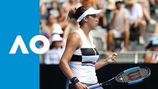 Anastasia Potapova v Madison Keys match highlights (2R)   Australian Open 2019