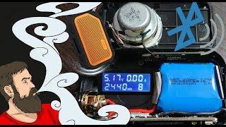 Vape обзор №242. Bluetooth Vape  Wismec ACTIVE 80W Box Mod Kit разбор.