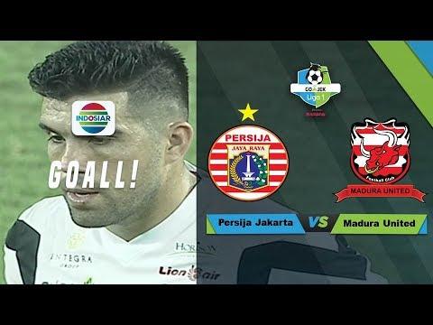 Goal Penalti Fabiano Beltrame - Madura United vs Persija Jakarta   Gojek Liga 1 Bersama Bukalapak