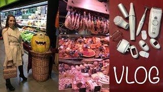 Київ VLOG #9: Метроград, Сiльпо, Горы мяса, сыра, рыбы и Женские покупки от Braun