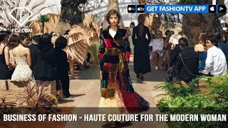 Maria Grazia Chiuri Business of Fashion Haute Couture for the Modern Woman | FashionTV