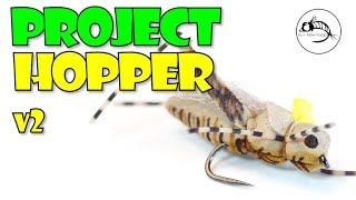 REALISTIC Hopper Fly Pattern: Project Hopper v2