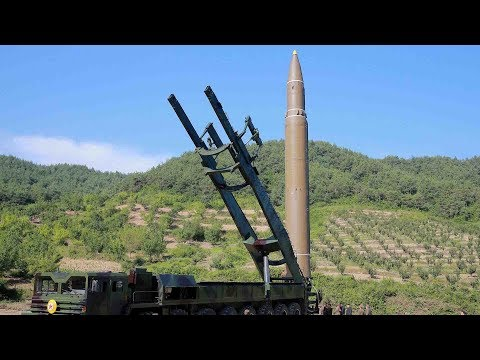 DPRK broadcasts video of missile launch