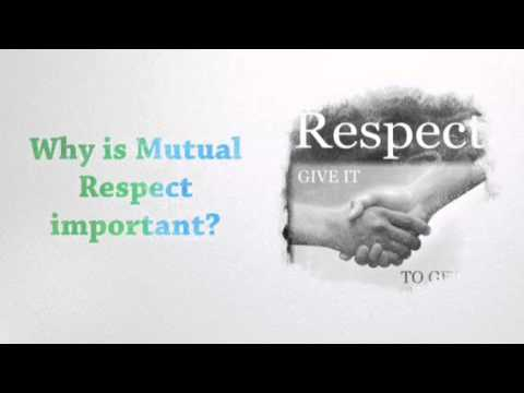 is respect a value