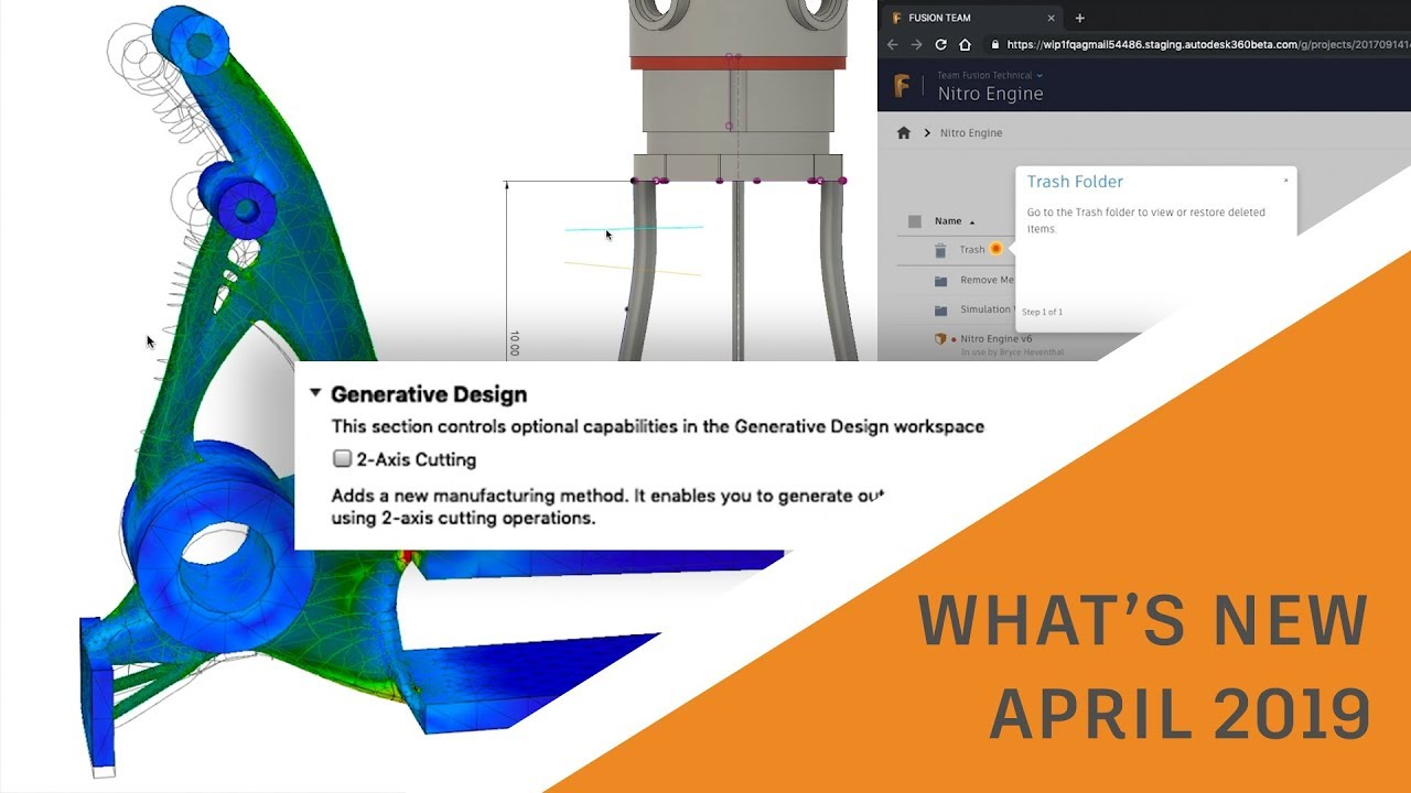 What's New in Fusion 360 April 2019 Update