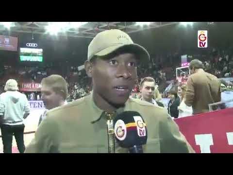 Bayern Munih In Yildiz Futbolcusu David Alaba Galatasaray Sevgisini Anlatiyor Youtube