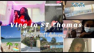Vlog To St Thomas With Me | ellysha swagg