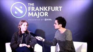 Frankfurt Major Day 5 - Interview with Zai