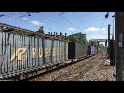 Preston - Freight Variety & DRS 88 VIP Launch Train - 9th May 2017