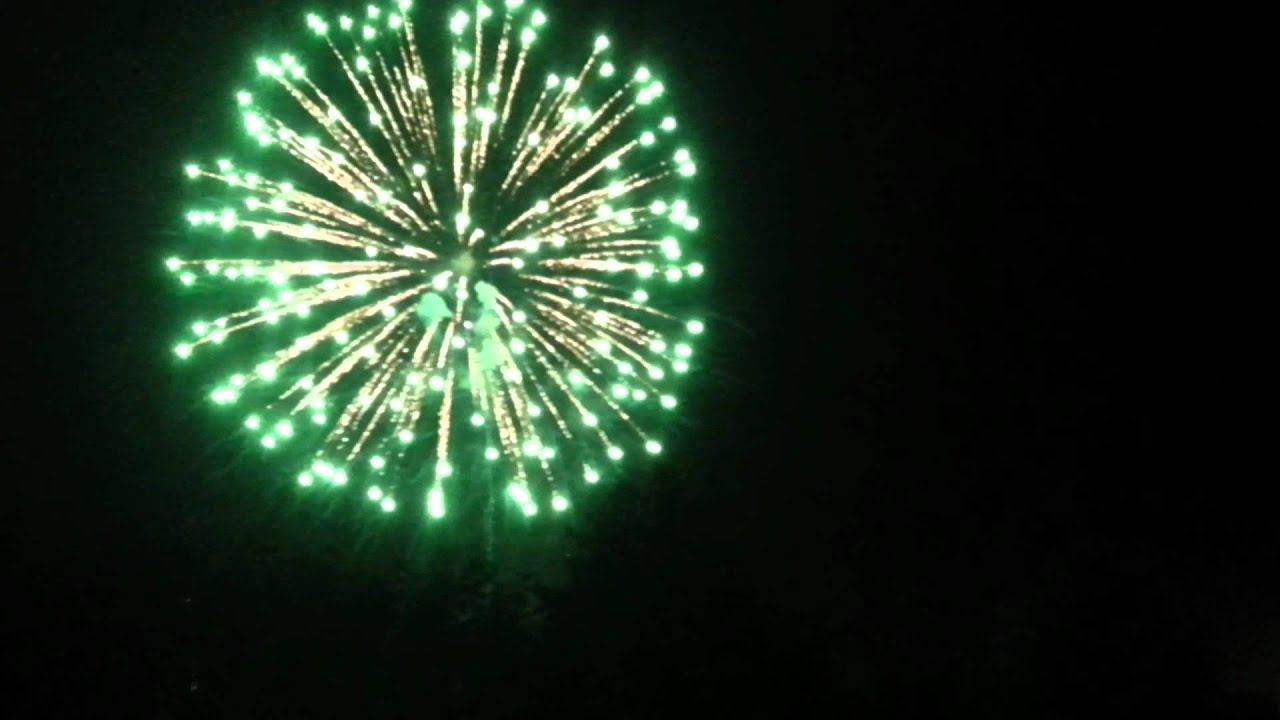 Green & Blue 2012 Final Firework - YouTube