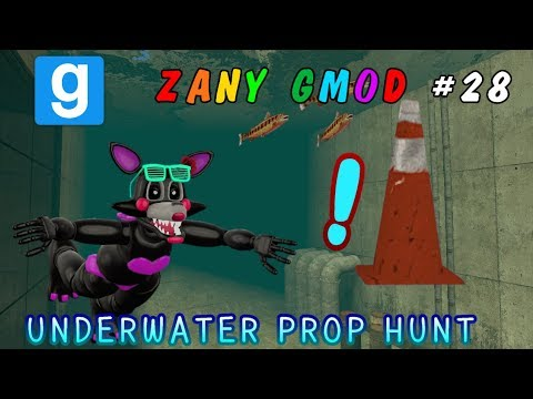 SWIMMING FOR PROPS! || NEW Gmod ENHANCED Prop Hunt! || UNDERWATER || Zany Gmod #28