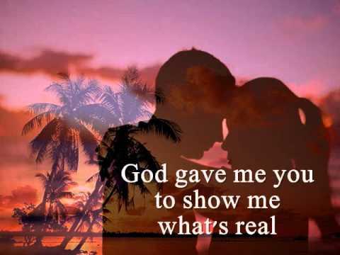 GOD GAVE ME YOU - Bryan White (Lyrics)