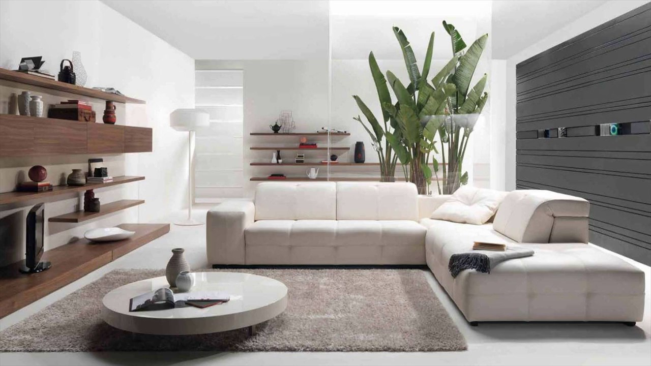 Contemporary Living Room Furniture Small Spaces Ideas YouTube