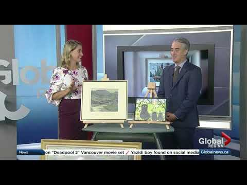 Rob Cowley Chats with Global News Morning Regina ahead of Consignor's Valuation Day Event