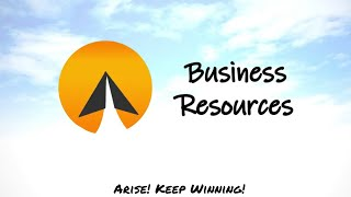 #14 : Business Resources - Arise! (English)