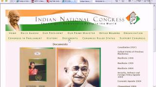 Indian Congress Party Constitution PDF made Offline part 1.avi