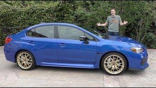 The $50,000 Subaru WRX STI Type RA Is the Most Expensive Subaru Ever thumbnail