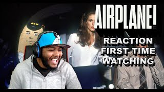 BLOWING THE BLOW UP DOLL LOL!! Airplane Movie reactions First Time Watching