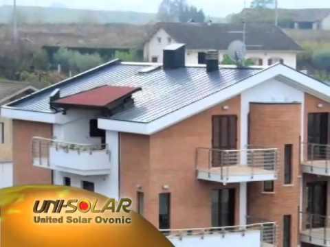 UNISOLAR PVL-136 Solar Power Amorphous Flexible PV Panels
