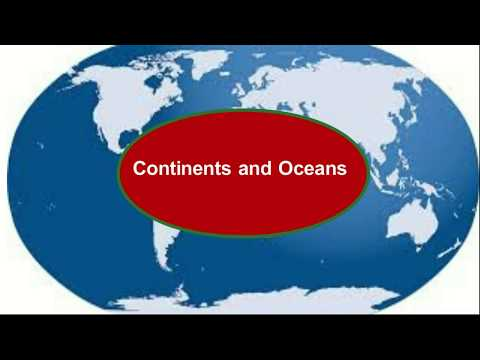 World Continents and oceans, Lines on the globe EM