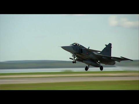 Pilotbrist hotar svensk beredskap - Nyheterna (TV4)