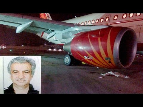 Air India technician's death : Last few minutes of deceased Ravi