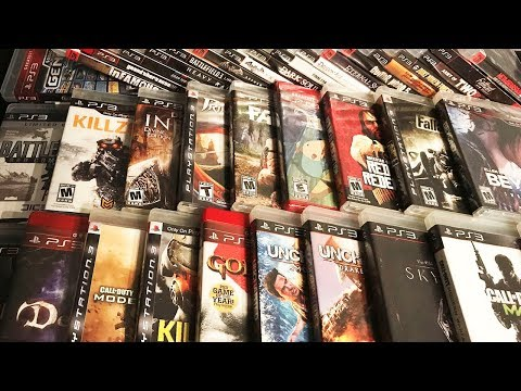 Playstation 3 Video Game Collection 2017