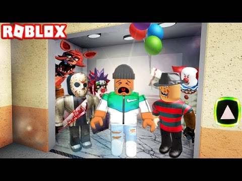Thumbnail: THE ROBLOX HORROR ELEVATOR