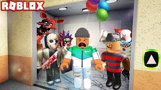 One of GamingWithKev's most viewed videos: THE ROBLOX HORROR ELEVATOR