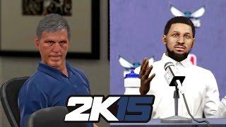 NBA 2k15 MyCAREER Gameplay - Bridges Hottest Free Agent Ever? Lost Mind @ Press Conference!
