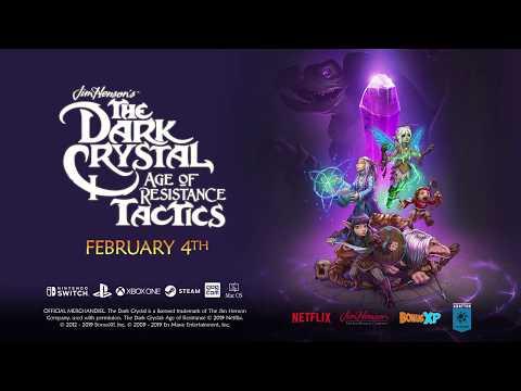 Трейлер с анонсом даты выхода игры The Dark Crystal: Age Of Resistance Tactics!