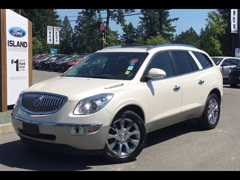 2011 buick enclave cxl-2, heated/cooled seats, awd review| island