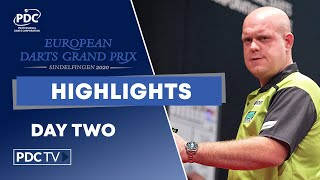 Day Two Highlights | 2020 European Darts Grand Prix