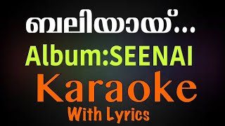 Super Hit Christian Devotional Karaoke with Lyrics Album Senai| Song Baliyayi