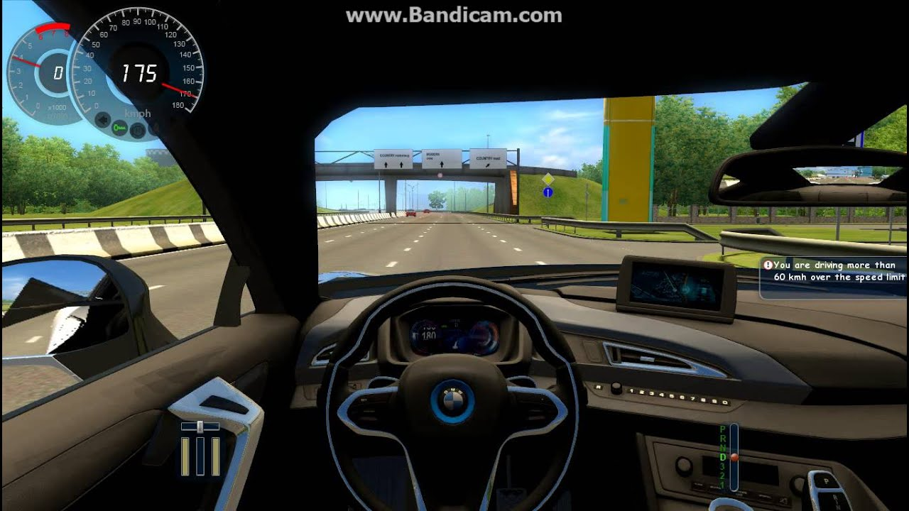 City Car Driving 1 2 2 Bmw I8 Video 41 Youtube
