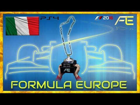 Formula Europe #FECL 2017 - 05 Italian GP Monza (F1 2016) 29.06.17 - Live Streaming 1080p HD
