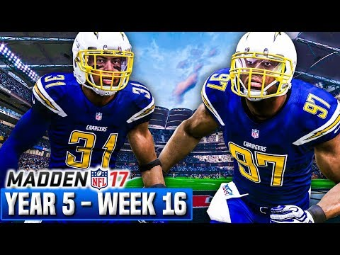 Madden 17 Chargers Franchise Year 5 - Week 16 vs Jets | Ep.112