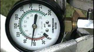 Compression Test on 1962-3hp Johnson Outboard Part 1/2