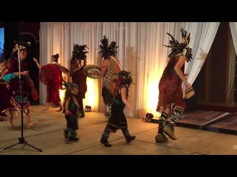 Coast Salish Dancers at 2017 BC Aboriginal Business Awards