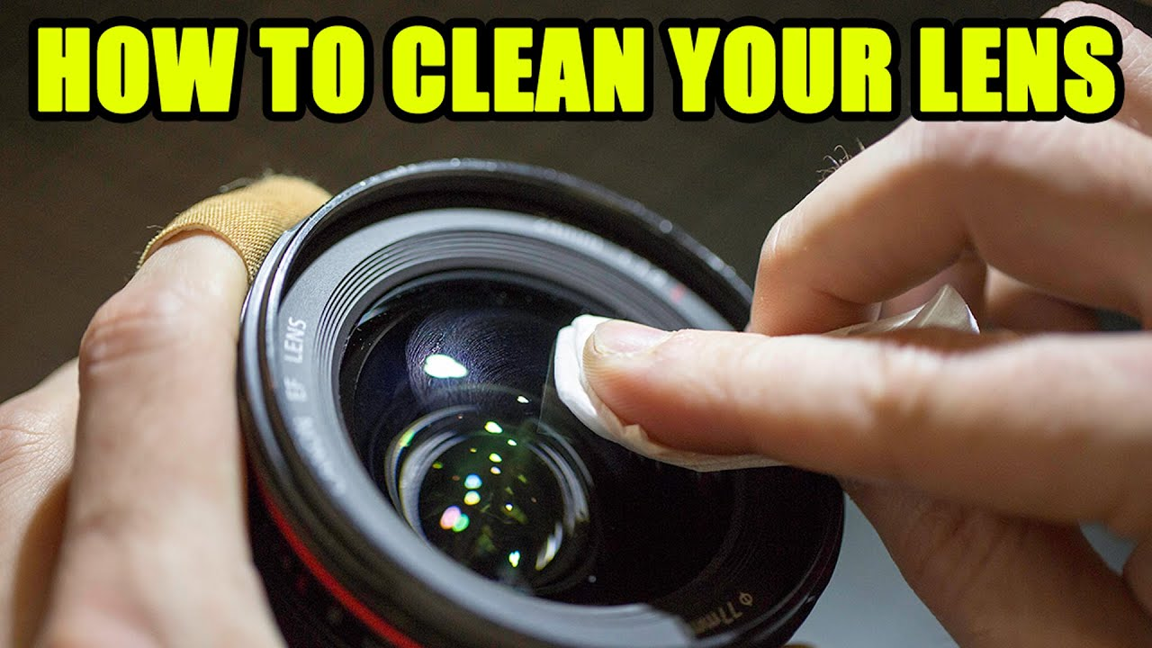 Camera Rocket Blower : How to clean your lens on your camera youtube