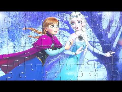 Clementoni Disney Frozen JEWELS PUZZLE Games Ravensburger Rompecabezas 104 piece Picture Puzzles