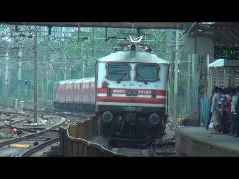 3 Cracking Rajdhani Express Trains Devastating Dadar (Busiest Railway Station in India)