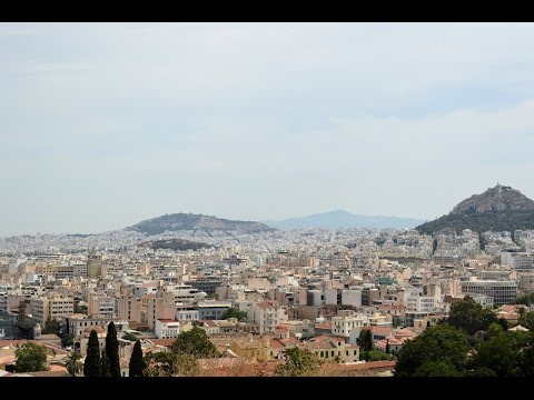 2016 Athens Greece Trip | Part 2 | Acropolis Hike 4K