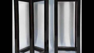 Asian-inspired Contemporary Tall Plant Vase Stand With Marble Top_bk0073y.wmv