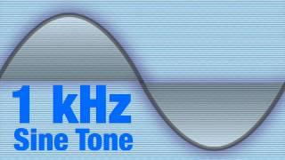 1kHz Sine Wave Test Tone Signal