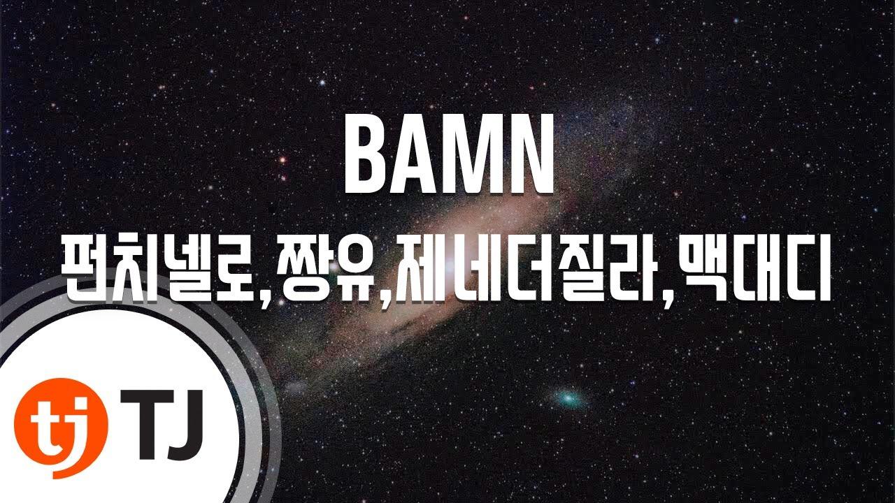 Download [TJ노래방] BAMN - 펀치넬로,짱유,제네더질라,맥대디 / TJ Karaoke