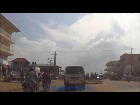 Kampala City drive - Seeta Mukono