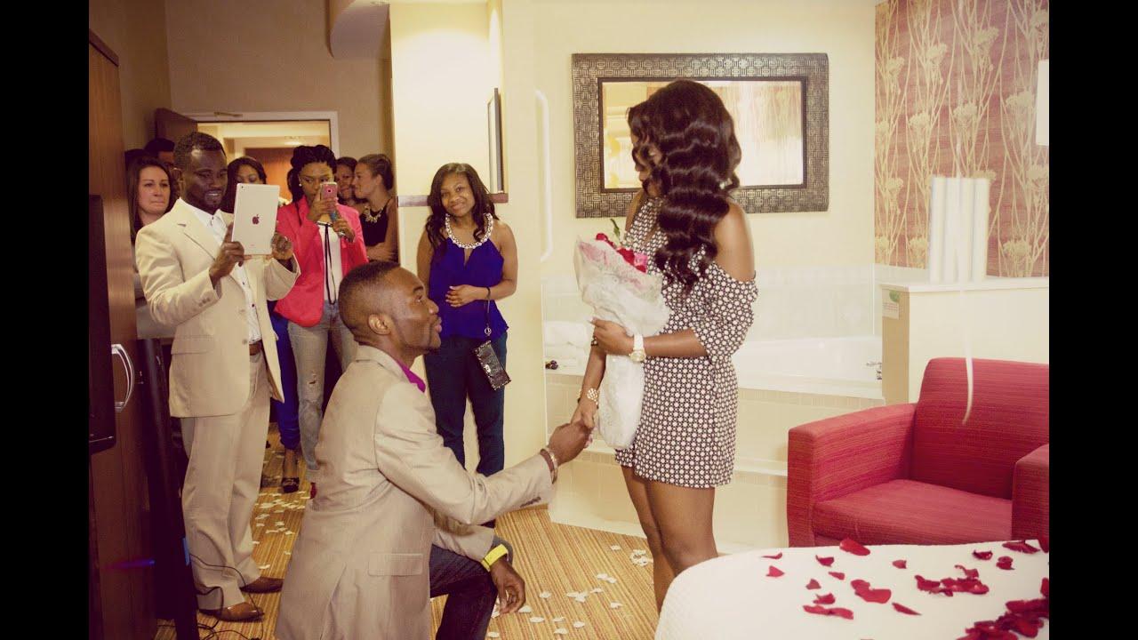 Surprise Wedding Proposal 2014
