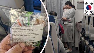Ibu Korea membagi 200 bingkisan bayi menangis di penerbangan TomoNews