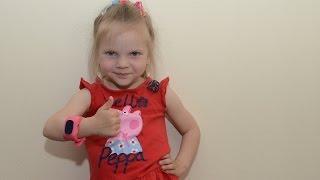 Детские умные часы с функцией телефона и GPS Q50(На данном видео продемонстрированы оригинальные детские GPS часы с телефоном q50. При наборе 1000 подписчиков..., 2016-06-04T18:51:18.000Z)